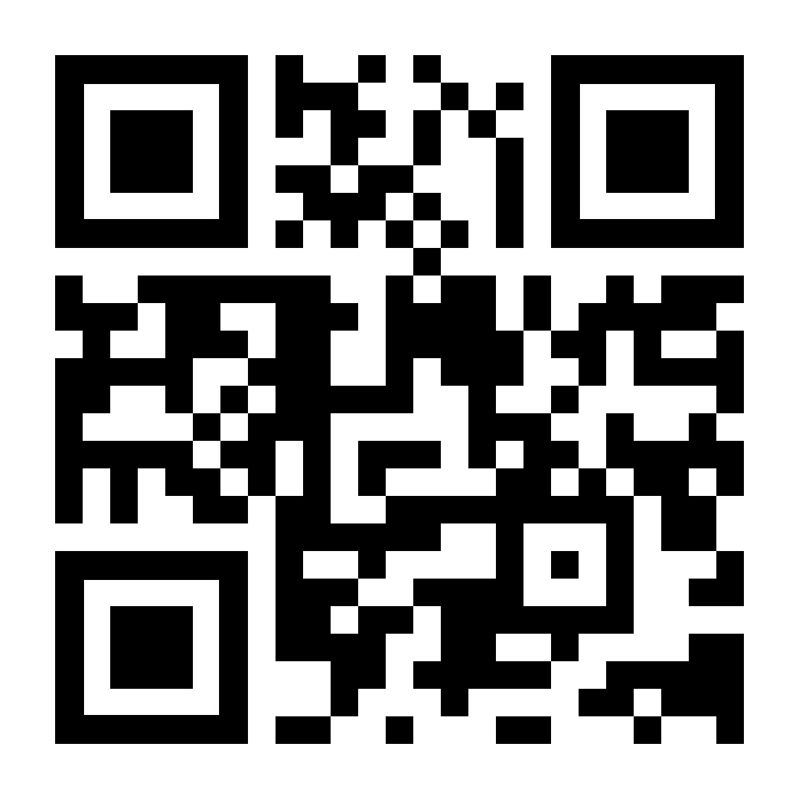 En QR-kode, der linker til kaspersky.com