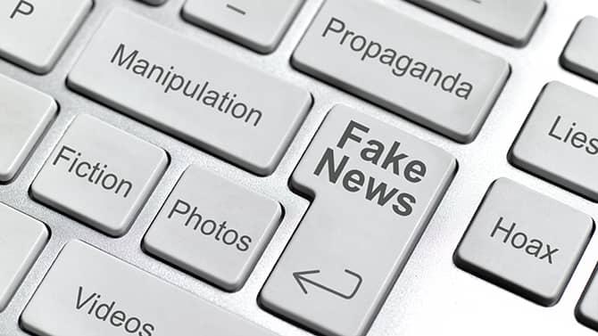 Eksempler på falske nyheder