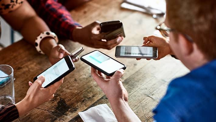 Krypteret messaging-app